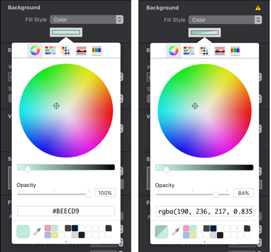 ElementsColorPickerSidebySide Rgb Color Picker