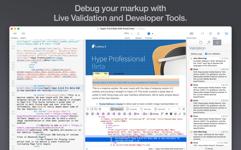 Tumult Whisk 2.6.0 Mac 破解版 轻量级网页编辑器